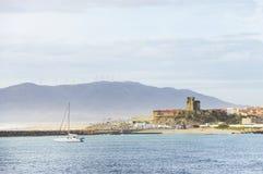 Paysage de plage à Tarifa Photos stock