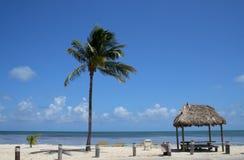 Paysage de plage Photo libre de droits