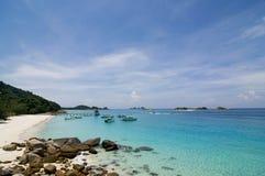 Paysage de plage Images libres de droits