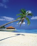 Paysage de plage Image libre de droits