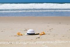 Paysage de plage dans les sud du Brésil Photos libres de droits