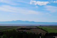 Paysage de plaines de St Lawrence photographie stock libre de droits