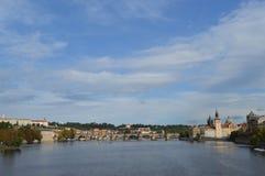 Paysage de Prague images stock