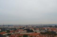 Paysage de Prague photographie stock