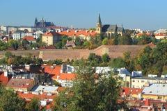 Paysage de Prague Photographie stock libre de droits