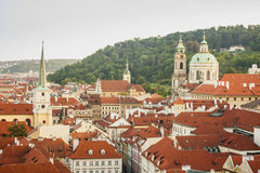 Paysage de Prague Photographie stock