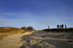 Paysage de prairie de la Chine Bashang Images libres de droits