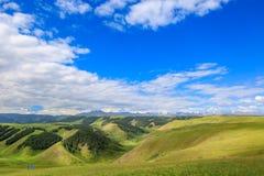Paysage de prairie de Tianshui dans la province de Gansu photos libres de droits