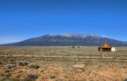 Paysage de prairies dans le Colorado Photos stock