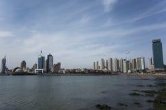 Paysage de Qingdao photos stock