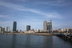 Paysage de Qingdao photos libres de droits