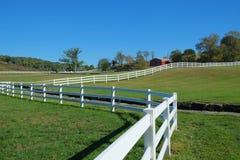Paysage de ranch de montagne Image libre de droits