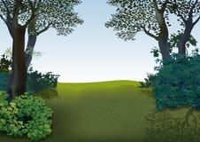 Paysage de ressort Image libre de droits