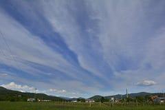 Paysage de ressort près de Cividale del Friuli Photographie stock libre de droits