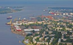 Paysage de Riga Photographie stock libre de droits