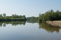 Paysage de rivière Photographie stock