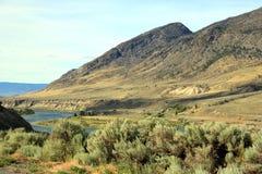 Paysage de rivière photographie stock libre de droits
