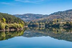 Paysage de rivière de Douro Photos libres de droits