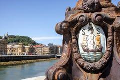 Paysage de San Sebastian, Images libres de droits