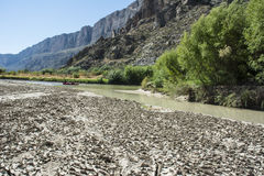 Paysage de Santa Elena Canyon Big Bend Photographie stock libre de droits