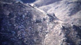 paysage 1954 de signe de bâtiment de barrage (de film de 8mm) clips vidéos