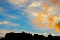 Paysage de sud de Ténérife Photo libre de droits