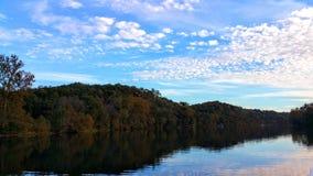 Paysage de Taneycomo de lac Images stock