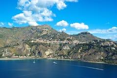 Paysage de Taormina Image stock
