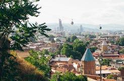 Paysage de Tbilisi Photo stock