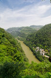 Paysage de Three Gorges images libres de droits