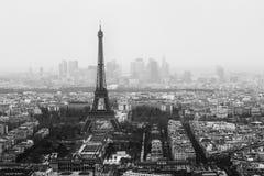 Paysage de Tour Eiffel Images libres de droits