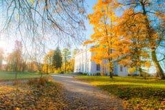 Paysage de Trakai photo libre de droits