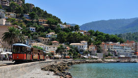 Port de Soller image stock