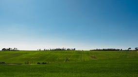 """Paysage de Val d typique """"Orcia en Toscane, Italie images stock"""