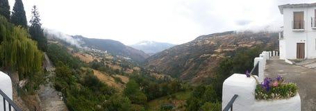 Paysage de vallée Images libres de droits