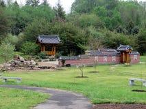 Paysage de Vienne du jardin coréen 2016 de Bell images stock