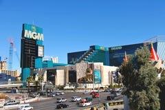 Paysage de ville à Las Vegas, Nevada. Photographie stock