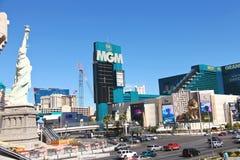 Paysage de ville à Las Vegas, Nevada. Photo stock