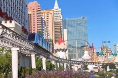 Paysage de ville à Las Vegas, Nevada. Image libre de droits