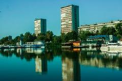 Paysage de ville Image stock
