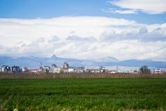 Paysage de ville Image libre de droits