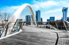Paysage de ville Photos libres de droits