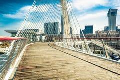 Paysage de ville Photographie stock