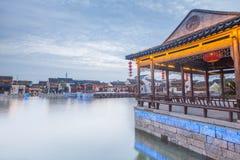Paysage de ville de dangkou de Wuxi Images libres de droits