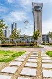 Paysage de ville de Jiangyin Photographie stock libre de droits