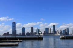 Paysage de ville de New Jersey Photographie stock