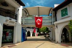 Paysage de ville en Turquie Photographie stock