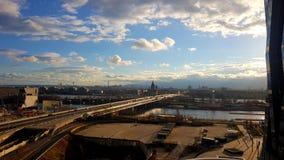 Paysage de ville de Vienne pendant le Sunny Day photos libres de droits