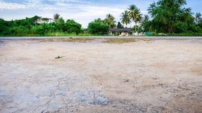 Paysage de vue devant la maison Photographie stock libre de droits