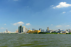 Paysage de Wuhan Photos stock